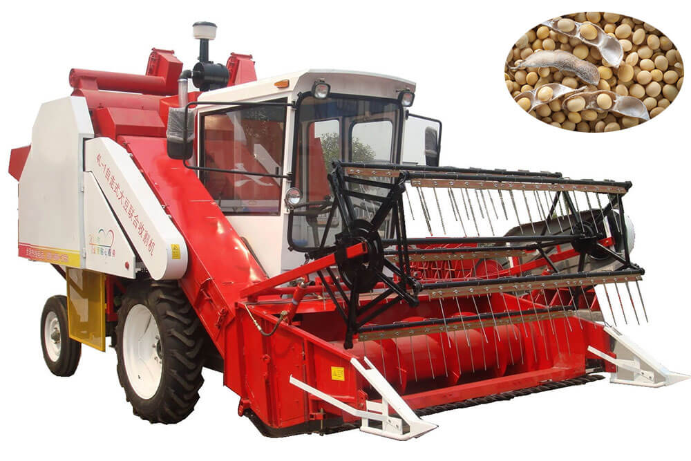 High Efficiency Soybean Combine Harvester Factory Price